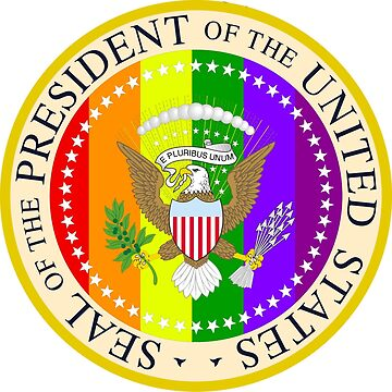 The GAY Presidential Seal by masterperson40