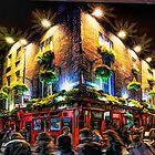 Die Temple Bar Pub Dublin von Brian Tarr