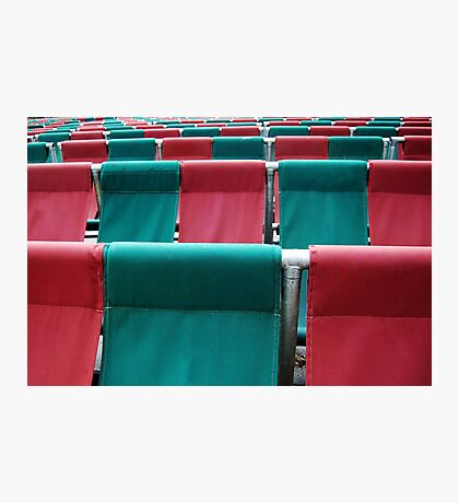 University Theatre Seating  Photographic Print