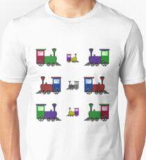 Nursery Trains Unisex T-Shirt