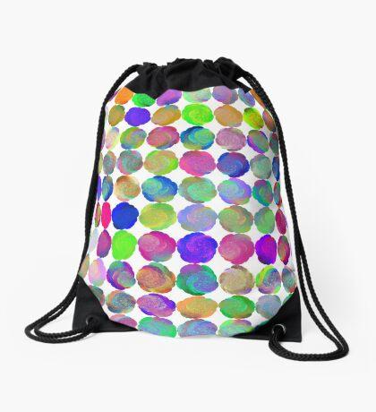 Space snowballs #fractal art Drawstring Bag