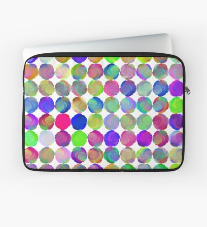 Space snowballs #fractal art Laptop Sleeve