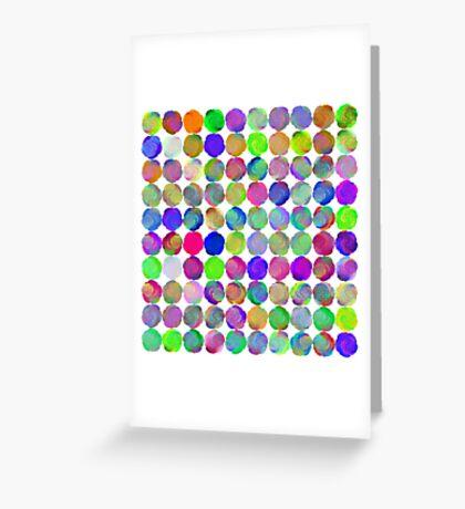 Space snowballs #fractal art Greeting Card