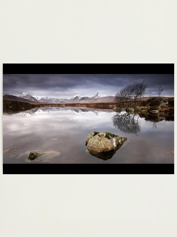 Alternate view of Rannoch Moor Photographic Print