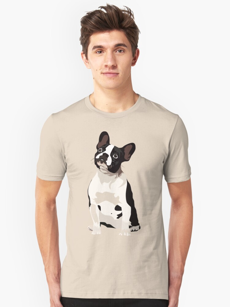 French Bulldoggy  Unisex T-Shirt Front