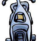 Scooter by elledeegee