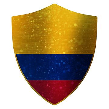 Colombia Flag Shield by ockshirts