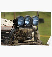 Muddy Bullbar & Lights Poster