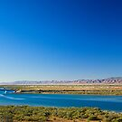 Freight Train arriving at Port Augusta,SA by Richard  Windeyer