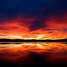 Sunrise over Spencer's Gulf, Port Augusta, SA by Richard  Windeyer