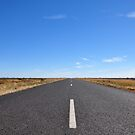 I Can See For Miles - Kamilaroi Highway NSW Australia by Bev Woodman