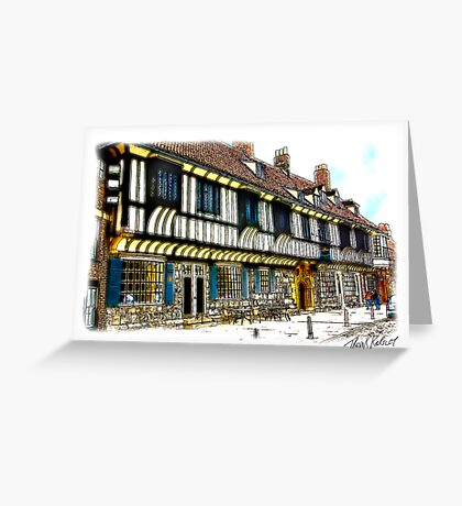 St William's College  -  York. Greeting Card