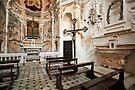 Small Chapel - Amalfi,  Italy by T.J. Martin