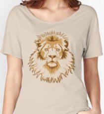 Lion Head (Transparent) Women's Relaxed Fit T-Shirt