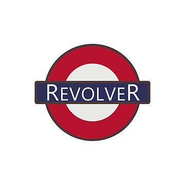 Revolver London Underground Tube Logo design by GetItGiftIt