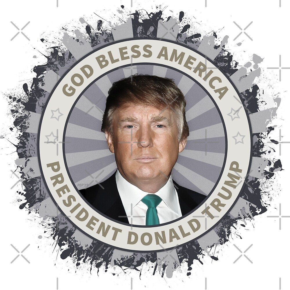 President Donald Trump by morningdance