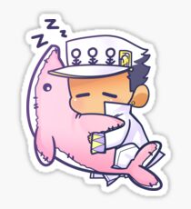 Sleepy Jotaro - DIU Sticker