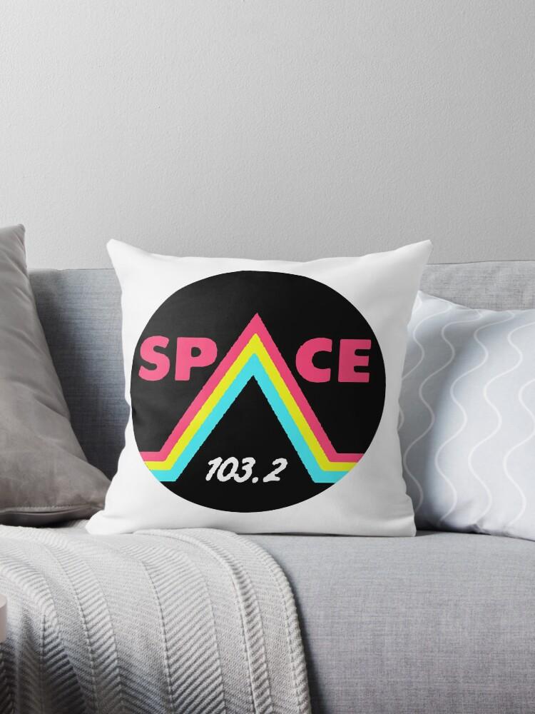 'Space 103 2 fm Los Santos GTA Grand Theft Auto v 5 Online radio' Throw  Pillow by dubukat