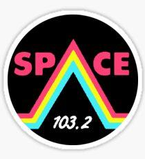 Space 103.2 fm Los Santos GTA Grand Theft Auto v 5 Online radio Sticker