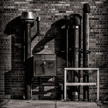 Alleyway Pipes No 3 by learningcurveca