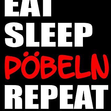 eat sleep poke repeat by Daniel0603
