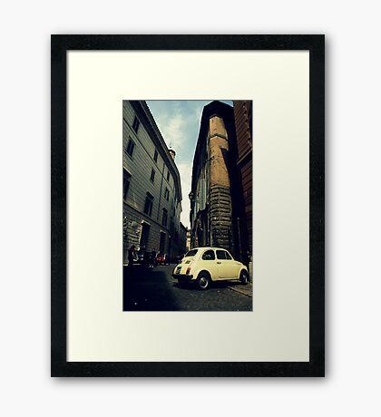 CinqueCento Framed Print