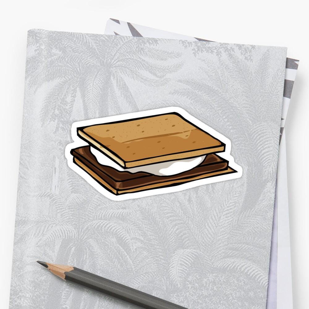 Smore Sticker