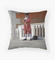 Sending text in 1783 Throw Pillow