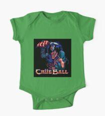 Crue Ball (sticker) - SEGA Genesis Title Screen Kids Clothes