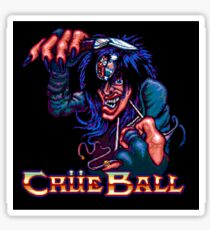 Crue Ball (sticker) - SEGA Genesis Title Screen Sticker
