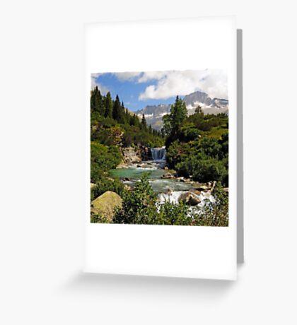 Malga Breguzzo, Roncone Greeting Card