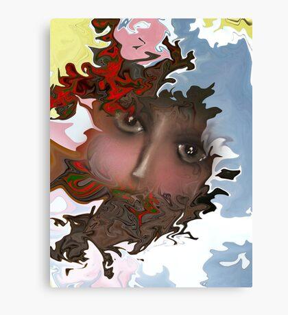Emotional Cloud of Frustration Canvas Print
