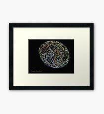 Synaptic Connections Framed Print