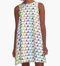 Colorful Geometric A-Line Dress