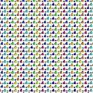 Colorful Geometric by elledeegee