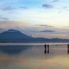 Mount Agung before sunrise by Adri  Padmos