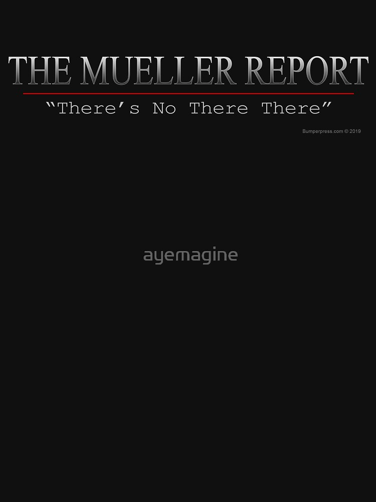 Mueller Report by ayemagine