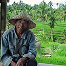 The rice farmer of Jatiluwih by Adri  Padmos