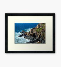 Botallack Mine, Cornwall Framed Print