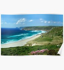 Whitesand Bay, Cornwall Poster