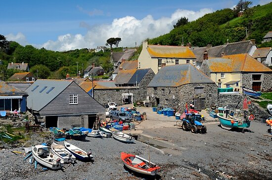 Cadgwith, Cornwall by rodsfotos