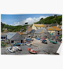 Cadgwith, Cornwall Poster