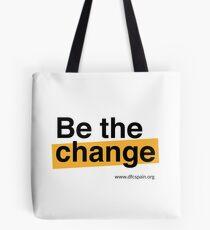 Be the change Bolsa de tela