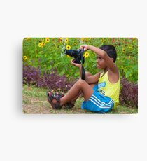 Upcoming Photographer Canvas Print