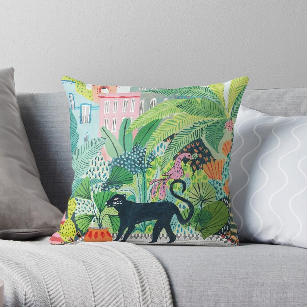 Dschungel Panther Dekokissen