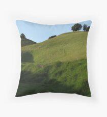 Mount Tamalpais Composition #1 Throw Pillow