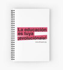 La educación es tuya, ¡evoluciónala! Cuaderno de espiral