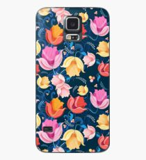 pattern of flowers tulips Case/Skin for Samsung Galaxy