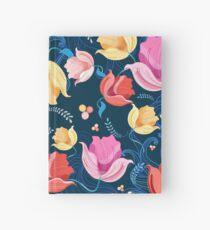 Muster von Blumentulpen Notizbuch