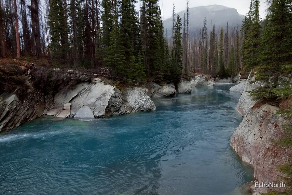 Land of Ghosts: Vermillion Riverway by EchoNorth